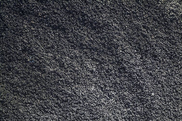 An-aerial-view-of-a-scrap-tire-dump